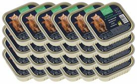 Корм для кошек Petibon Smart с курицей и телятиной для кошек