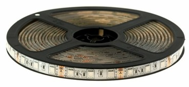 Светодиодная лента URM 5050-60led-12V-14.4W-10-12LM-RGB-IP65-10mm 5 м