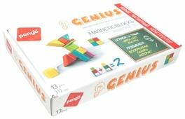 Магнитный конструктор Pengo Magnetic Blocks P00213 Genius