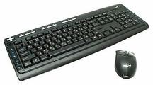 Клавиатура и мышь Genius TwinTouch 750e Lazer Black USB