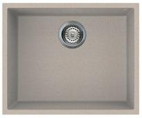 Врезная кухонная мойка smeg VZUM57 54х44см искусственный гранит