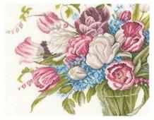 Lanarte Набор для вышивания Красивые цветы 40 x 30 см (0158327-PN)