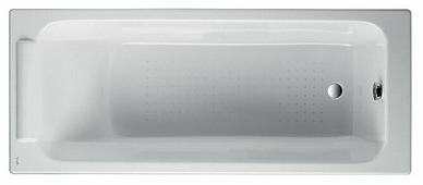 Ванна Jacob Delafon Parallel 170x70 без отверстий для ручек Е2947 чугун