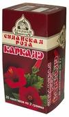 Чай травяной Добрыня Никитич Каркаде Суданская роза в пакетиках