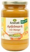 Пюре Alnatura яблочное с манго банка 360 г
