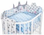 SWEET BABY комплект в овальную кроватку Gioia (5 предметов)