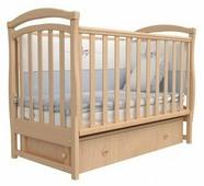 Кроватка детская верес Соня ЛД6 орех