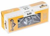 Болт ELEMENT мебельный DIN 603 30 шт.