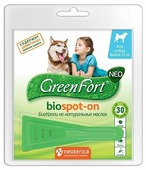 GreenFort капли от блох и клещей Neo Biospot-on для собак