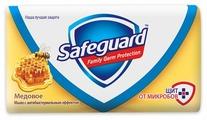 Антибактериальное кусковое мыло Safeguard Медовое