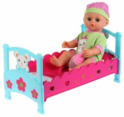 Интерактивная кукла Карапуз Оленька, 36 см, 6860-RU