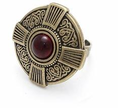 Skifska Etnika Кольцо Византия Харизма (рубин)