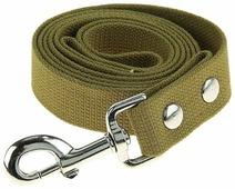 Поводок для собак Киспис с усиленным карабином до 300 кг
