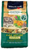 Корм для шиншилл Vitakraft Emotion Pure Nature Herbal