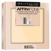 Maybelline Affinitone пудра компактная Совершенный тон выравнивающая и матирующая