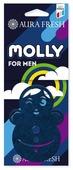 AURA FRESH Ароматизатор для автомобиля Molly For Man