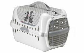Переноска-клиппер для кошек Moderna Trendy Runner Влюбленные кошки 51х31х34 см