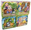 Омега Книжка EVA с пазлами. Подарочный набор книг для детей. Мои любимые сказки