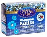 Эльфа Золотой лён Каша льняная ассорти, порционная (7 шт.)