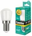 Лампа светодиодная Camelion 13153, E14, T26, 2Вт