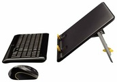 Клавиатура и мышь Logitech Notebook Kit MK605 Black USB