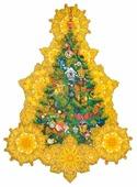 Наклейка интерьерная Феникс Present Искрящаяся елка 30 x 40 см