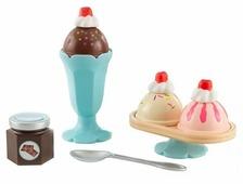 Набор продуктов с посудой KidKraft Мороженое 63456_KE