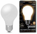 Лампа светодиодная gauss 102202110, E27, A60, 10Вт