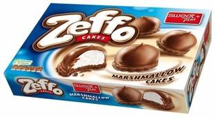 Пирожное Sweet Plus ZEFFO маршмеллоу в шоколадной глазури