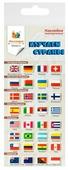 Липляндия Набор наклеек Флаги 1