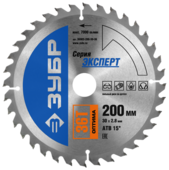 Пильный диск ЗУБР Эксперт 36903-200-30-36 200х30 мм