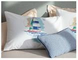 Комплект наволочек Madame Coco Кораблик ранфорс, 2 шт. 50 х 70 см