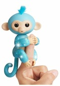 Интерактивная игрушка робот WowWee Fingerlings Ручная обезьянка в блестках