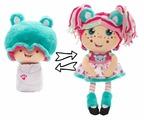 Мягкая игрушка 1 TOY Девчушка-вывернушка Надюшка 38 см