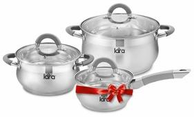 Набор посуды LARA LR02-95 6 пр