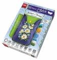 Danko Toys Набор для вышивания лентами и бисером My Phone Clutch Ромашки (MPCL-01-01)