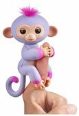 Интерактивная игрушка робот WowWee Fingerlings Ручная обезьянка Двухцветная