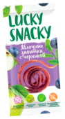 Пастила Lucky Snacky Яблочные завитки с черникой 20 г