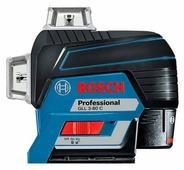 Лазерный уровень BOSCH GLL 3-80 C Professional + BM 1 + L-BOXX 136 (0601063R05)