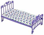 ОГОНЁК Кроватка с постельным бельем (С-1425)