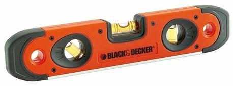 Уровень брусковый 3 глаз. BLACK+DECKER BDHT0-42174 25 см