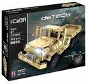 Электромеханический конструктор Double Eagle CaDA deTECH C51042W Военный грузовик