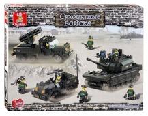 Конструктор SLUBAN Сухопутные войска M38-B6800