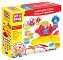 Масса для лепки РОСМЭН Let's Play Стильные прически 10 цветов по 50 г (35740)