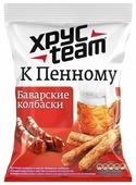ХРУСteam Сухарики К Пенному Баварские колбаски, 90 г