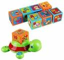 Интерактивная развивающая игрушка Азбукварик Черепашка Умняшка с кубиками