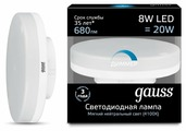 Gauss GX53 8W 680Lm 4100K 108408208-D