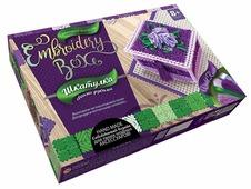 Danko Toys Набор для вышивания Embroidery Box Шкатулка Набор 3 (EMB-01-03)