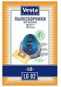 Vesta filter Бумажные пылесборники LG 02