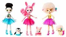 Набор из трех кукол Enchantimals Волшебные балерины, 15 см, FRH55